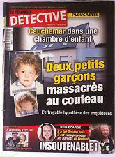 DETECTIVE du 15/11/2011; Plougastel; 2 petits garçons massacrés au couteau