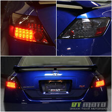 Smoke 2006-2011 Honda Civic 2Dr Coupe Lumileds LED Tail Lights Lamps Left+Right