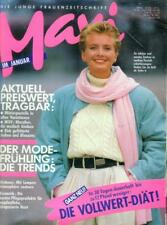 Maxi - Die junge Frauenzeitschrift 1/89