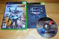LUCASARTS ARMED & DANGEROUS | ORIGINAL XBOX GAME / 360 COMPATIBLE