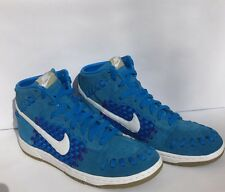 NIKE DUNK WOVEN PHOTO BLUE/WHITE-KHAKI 555030 401 Suggested Retail 100.00