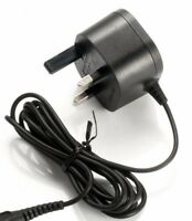 Replacement Shaver Charger Power Lead for Philips UK 3 Pin Plug Coolskin