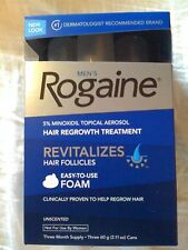 Men's ROGAINE Hair Regrowth Unscented Foam - 24 months supply
