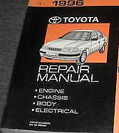 1996 TOYOTA TERCEL Service Shop Repair Manual BRAND NEW BOOK OEM HUGE WORKSHOP