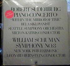 Suderburg/Schuman/Siki/Bernstein  Concerto; Symphony   Odyssey