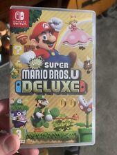 New Super Mario Bros. U -- Deluxe Edition (Nintendo Switch, 2019)