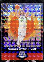 Donovan Mitchell 2019-20 Panini Mosaic Jam Masters Silver Prizm Refractor