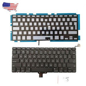 """New Backlit Keyboard For Apple MacBook Pro A1278 13.3"""" 2009 2010 2011 Mid-2012"""