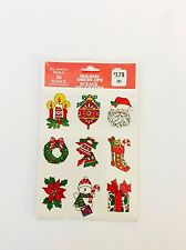 Vintage Christmas Stickers Self Adhesive Seals 36 Sceaux Auto Collants Holiday