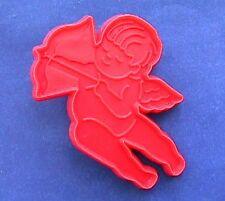Hallmark COOKIE CUTTER Valentines Vintage ANGEL Bow Arrow RED Holiday HARD 2