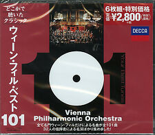 V.A.-YOUR 101 BEST TUNES WIENER PHILHARMONIKER-JAPAN 6 CD G35