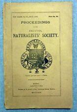 Proceedings of the Bristol Naturalists' Society Vol III Part II 1880 1881 Map