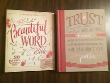 NKJV Beautiful Word Bible -$44.99 Retail-Hardcover (Journaling Note Wide Margin)