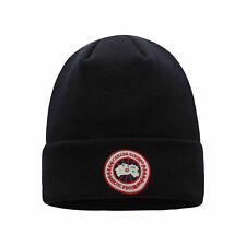 2020 Warm Cuffed Cap Knit Stretch Goose Beanie Hat Winter For Men or Women UK4