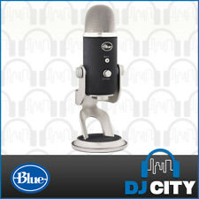 Blue Microphones Yeti Dynamic Podcast Recording Microphone - Silver