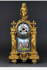 """Stunning Ca.1840 BRONZE Case Signed """"PH MOUREY"""". Signed Works by JAPY FRERES"""