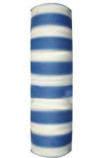 Rete ombra telo 90% bianco Azzurro Rotolo ombreggiante sole 100 mt altezza 2 mt
