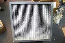 """NOS ASHRAE Cell Box Air Filter 24""""X 24"""" X 12"""" Wet Laid Micro-Fiber Paper"""
