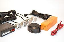 SENSORI DI PARCHEGGIO CON ALTOPARLANTE;FACILE MONTAGGIO; ARGENTO 18mm Sensori;