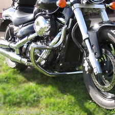 Suzuki M800 / C50 Boulevard Highway Crash Bar Engine Guard with built in Pegs