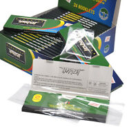 HORNET Cigarette Rolling Papers Clear Wide King Size 24 Booklets Full Box