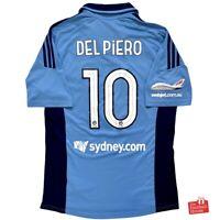 Authentic Adidas Sydney FC 2012/13 Home Jersey - Del Piero 10. Size M, Exc Cond.
