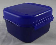 Tupperware a 166 Mini Bellevue boîte récipient BOX 450 ML bleu foncé bleu nouveau OVP