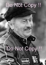 Colin Chapman JPS Lotus F1 Portrait Photograph 3