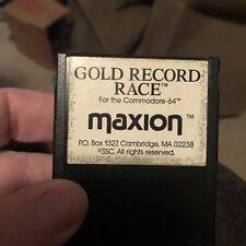 Gold Record Race C64 Cartridge Commodore 64 Maxion Rare