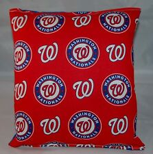 Washington Nationals Pillow Nationals Pillow MLB Handmade in USA Pillow Baseball