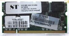 MODULO RAM ST SODIMM 512MB DDR 333MHz