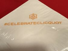 Authentic Veuve Clicquot White Cocktail Napkins **RARE** VCP **FREE SHIPPING**
