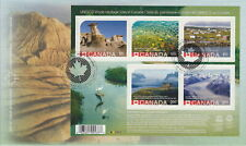 CANADA 2015 UNESCO HERITAGE ERROR STAMP #2844 FIRST DAY COVER FDC VERY RARE!