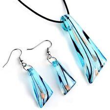 Pendant Necklace Set Jewelry Set Jewelry Murano Glass Jewelry