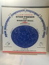 1970-73 Luminous Star Finder & Zodiac Dial By Hubbard Scientific Co No SF-425
