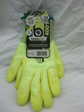 HIGH VISABILITY THERMAL KNIT PVC PALM COATED INSULATED WATER REPELLENT GLOVES