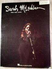 Sarah McLachlan collection piano vocal guitar Hal Leonard