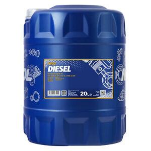20 (1x20) Litre Mannol 15W-40 Diesel L'Huile De Moteur Pour Essence - Et