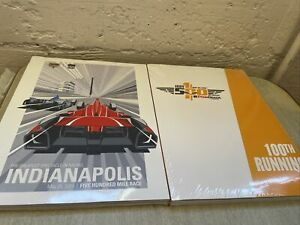 Lot of 2 Indy Indianapolis 500 Programs 2016 PennGrade 100th Running + 2014