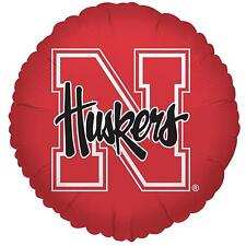 Nebraska Cornhuskers Football Foil Balloon College Licensed Homecoming