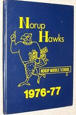 1977 Norup Middle School Yearbook Annual Oak Park Michigan MI