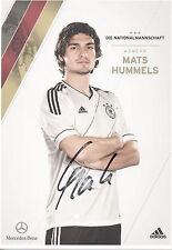 ORIGINALE Autografo-Mats Hummels (DFB AK 2012)