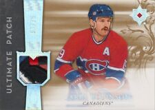 06-07 Ultimate Collection ULTIMATE PATCH xx/75 Made! Larry ROBINSON - Canadiens