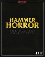 OOP New & Sealed Hammer Horror 17 Disc Blu ray Set Region B Frankenstein Dracula