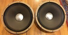 """PRE-OWNED JBL 130 AS Woofers 8 Ohm 15"""" ***PAIR**"""