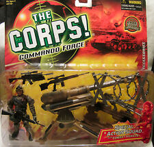 The Corps especial Acción Squad Bunker post w/ disparo misiles Lanard MOC