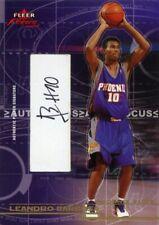 RARE 2003-04 LEANDRO BARBOSA SUNS FLEER FOCUS ROOKIE AUTOGRAPH CARD # 16 / 25 !