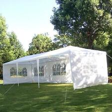 10' X 30' Canopy Outdoor Wedding Party Tent Gazebo Pavilion w/5 Walls Cover New