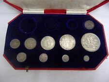 More details for part set of 1902 coins in specimen coin case
