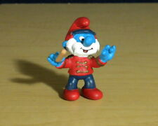 Smurfs 20496 Papa Smurf Conductor Marching Band Figure Vintage PVC Toy Figurine